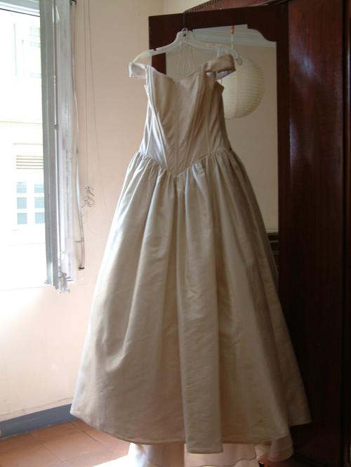 12. the dress awaits
